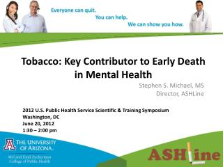 Tobacco: Key Contributor to Early Death in Mental Health