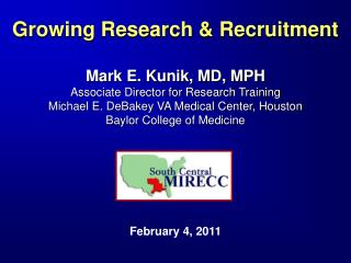 Growing Research & Recruitment