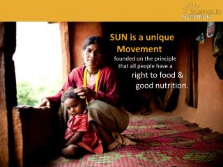 SUN is a  unique    Movement     founded  on the principle       that all  people have a