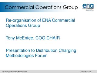Commercial Operations Group