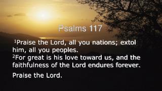 Psalms 117