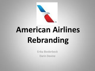 American Airlines Rebranding