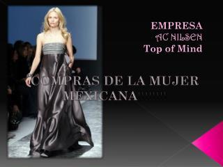 COMPRAS DE LA MUJER MEXICANA !!!!!!!!