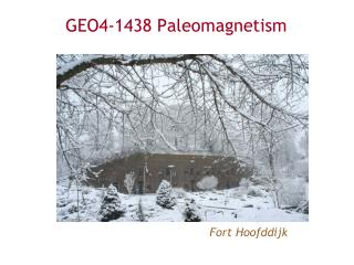 GEO4-1438 Paleomagnetism