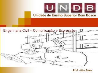 Engenharia Civil  – Comunicação e Expressão