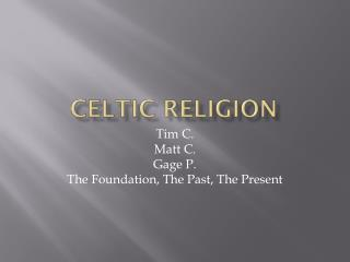 Celtic Religion