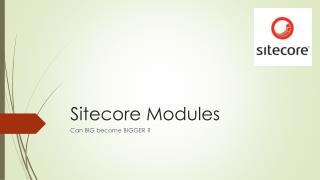 Sitecore Modules