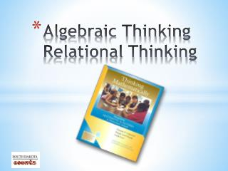 Algebraic Thinking Relational Thinking