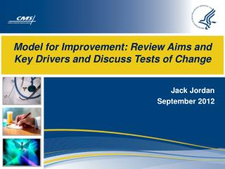 Model for Improvement: Review Aims and Key Drivers and Discuss Tests of Change