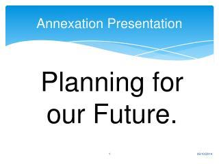 Annexation Presentation