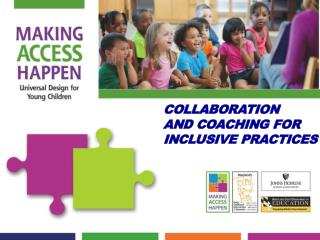Collaboration  And Coaching For Inclusive practices