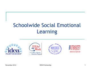 Schoolwide Social Emotional Learning