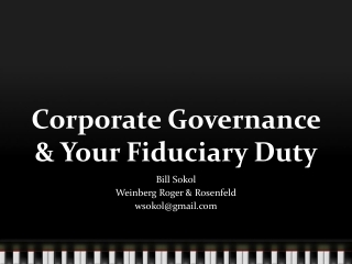 Due Diligence: Is It Enough Fiduciary Duty Post-Madoff