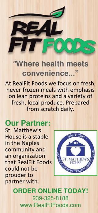 """"""" Where health meets convenience.. ."""""""