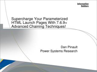 Supercharge Your Parameterized HTML Launch Pages With 7.6.9+ Advanced Chaining Techniques!