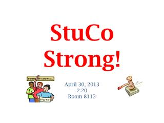 StuCo  Strong!