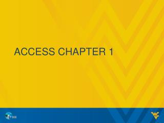 Access Chapter 1