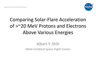 Comparing Solar-Flare Acceleration of >~20 MeV Protons and Electrons Above Various Energies