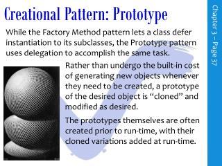 Creational Pattern: Prototype