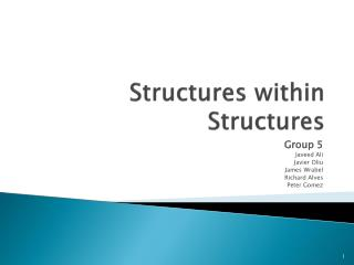 Structures within Structures