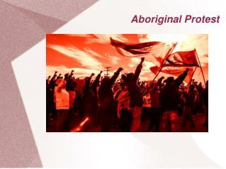 Aboriginal Protest