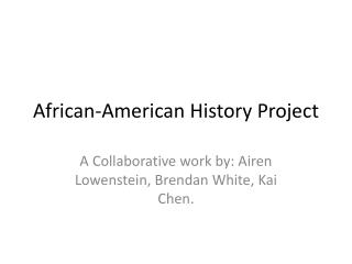 African-American History Project