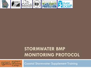 Stormwater BMP Monitoring Protocol