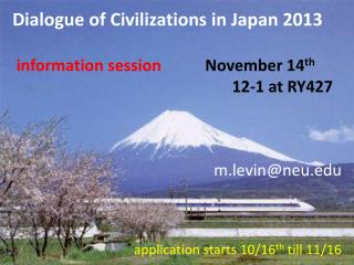 m.levin@neu  application starts 10/16 th  till 11/16