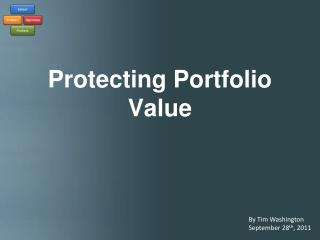 Protecting Portfolio Value
