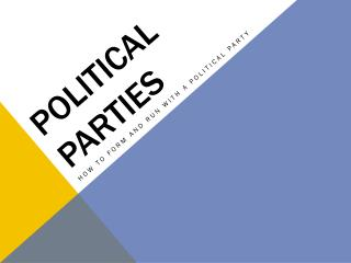 the distribution of political power in leisersons parties and politics The politics of austria take place in a framework of a have largely dominated the party-political the number and distribution of seats is.