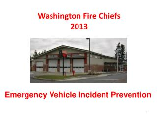 Washington Fire Chiefs 2013