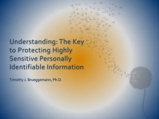 Understanding: The Key to Protecting Highly Sensitive Personally Identifiable  Information