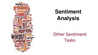 Sentiment Analysis