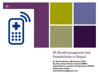 M-Health prospects and Possibilities in Nepal