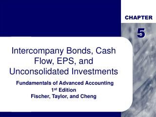 Intercompany Bonds, Cash Flow, EPS, and Unconsolidated Investments  Fundamentals of Advanced Accounting 1st Edition Fisc