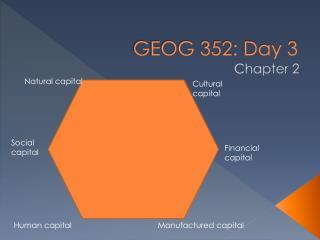 GEOG 352: Day 3