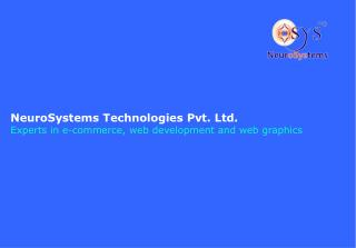 NeuroSystems Technologies Pvt. Ltd . Experts in e-commerce, web development and web graphics