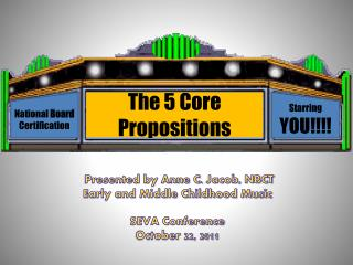 The 5 Core Propositions