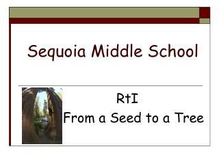 Sequoia Middle School
