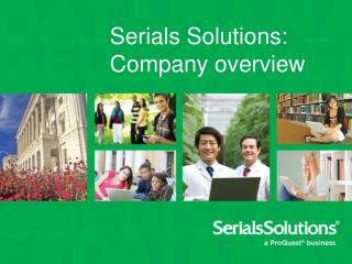 Serials Solutions: Company overview