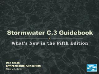 Stormwater  C.3 Guidebook