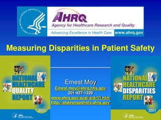 Measuring Disparities in Patient Safety