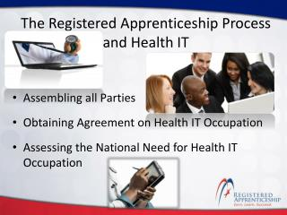 The Registered Apprenticeship Process and Health IT
