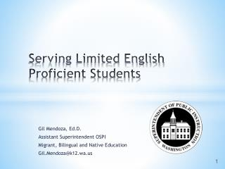 Serving Limited English Proficient Students