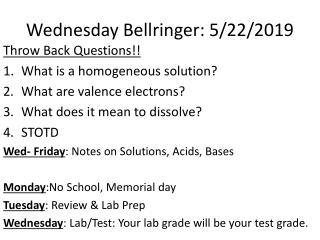 Lab 19-Solubility