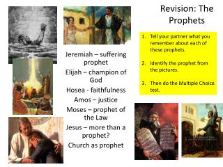 Revision: The Prophets