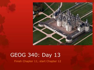 GEOG 340: Day 13