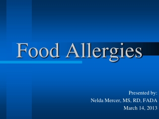 Allergy Testing for Allergic Rhinitis