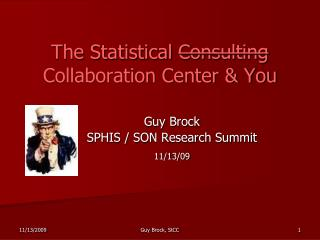 The Statistical  Consulting  Collaboration Center & You