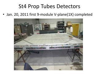 St4 Prop  Tubes Detectors